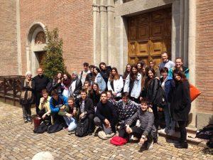 Foto degli studenti del liceo Chierici con i quali abbiamo collaborato...