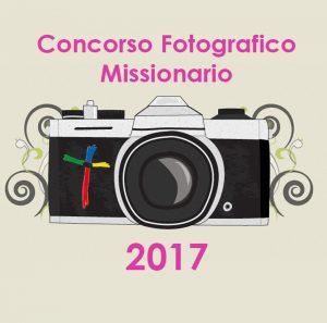 Il logo del concorso fotografico missionario con la macchina fotografica dedicata