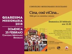 il 25 febbraio il convegno missionario diocesano
