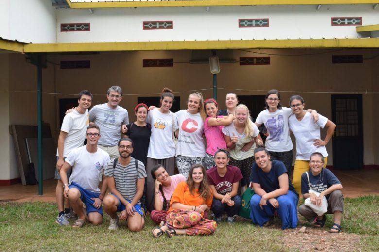 Il gruppo di Reggio Emilia in posa