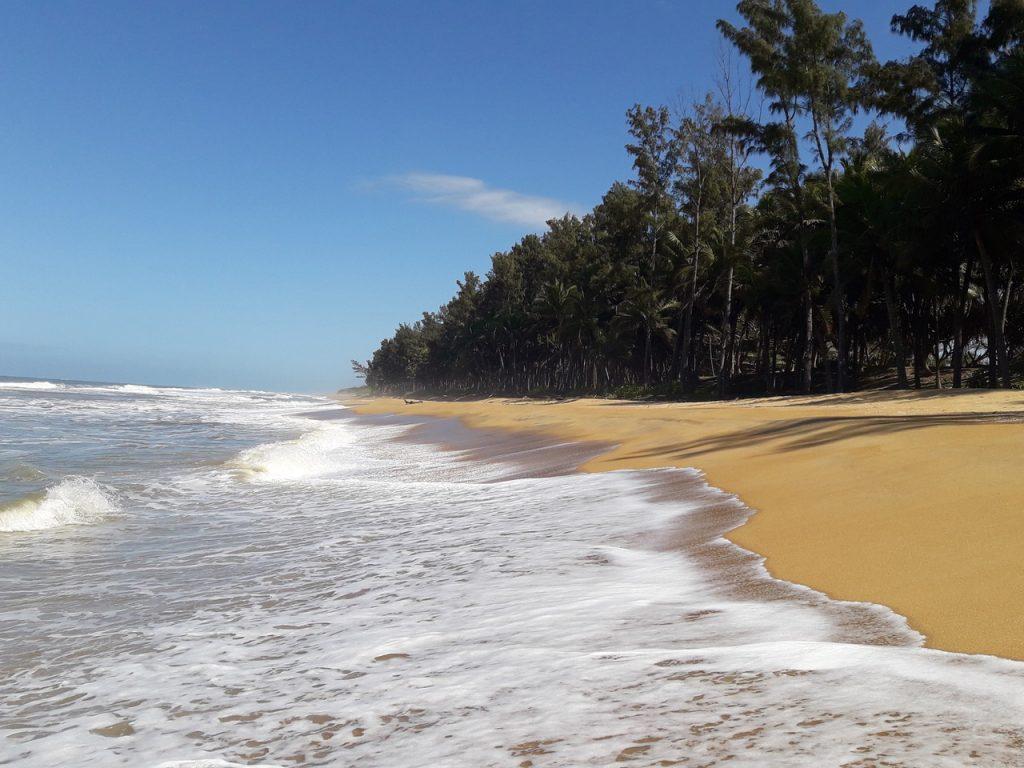 Panorama dell'Oceano Indiano a Manakara