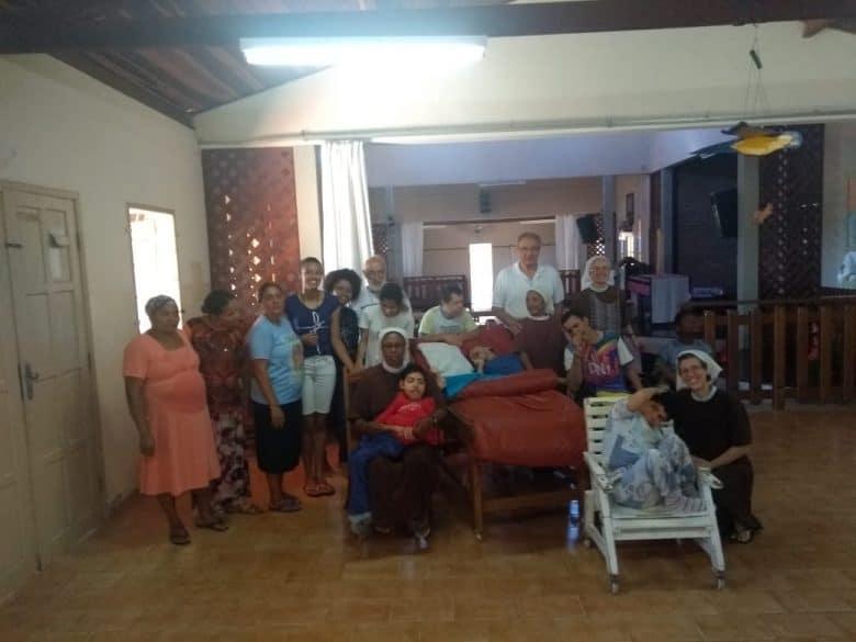 la foto di tutti i missionari e le missionarie di Ruy Barbosa