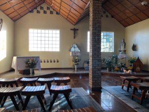 la chiesa di Kibeho in Rwanda