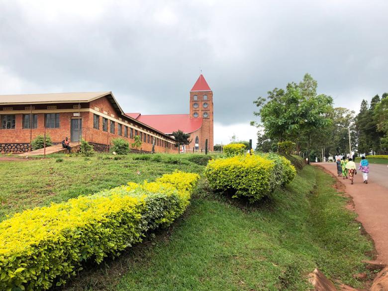 il panorama della cattedrale a Kibungo