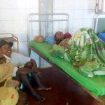 Un ricoverato all'ospedale