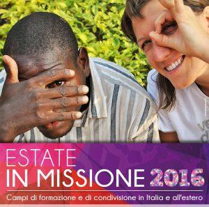 Campi 2016 di formazione e di condivisione in Italia e all'estero