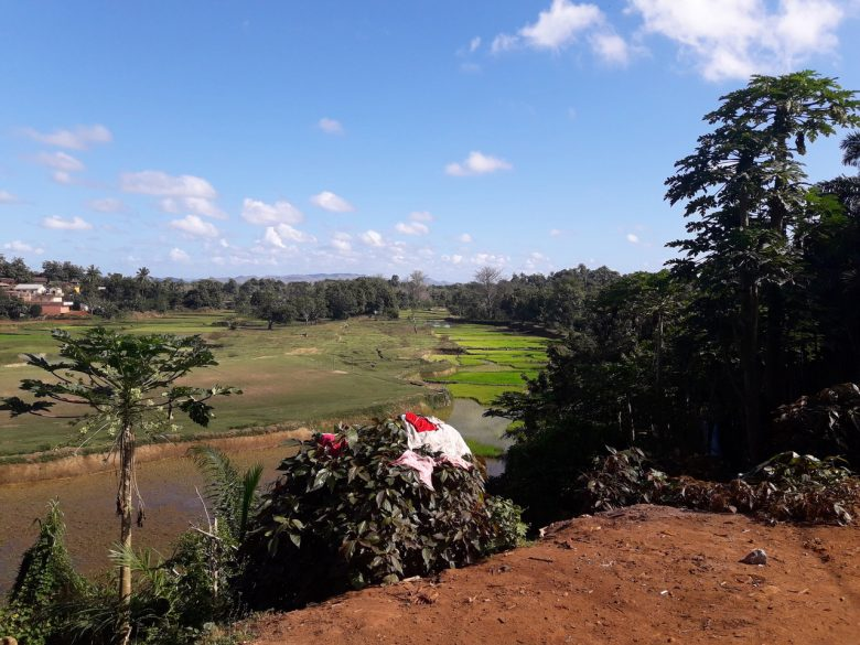 Il panorama di Ampasimanjeva