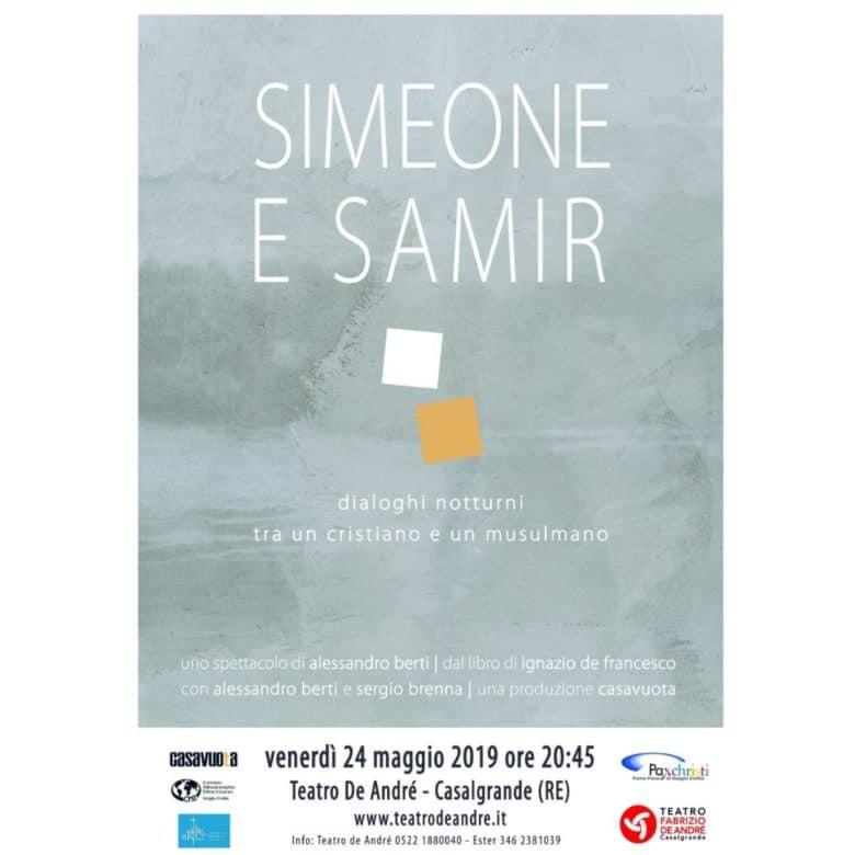 SIMEONE E SAMIR spettacolo teatrale (2)