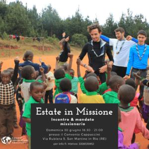 Incontro campisti e mandato missionario 2019