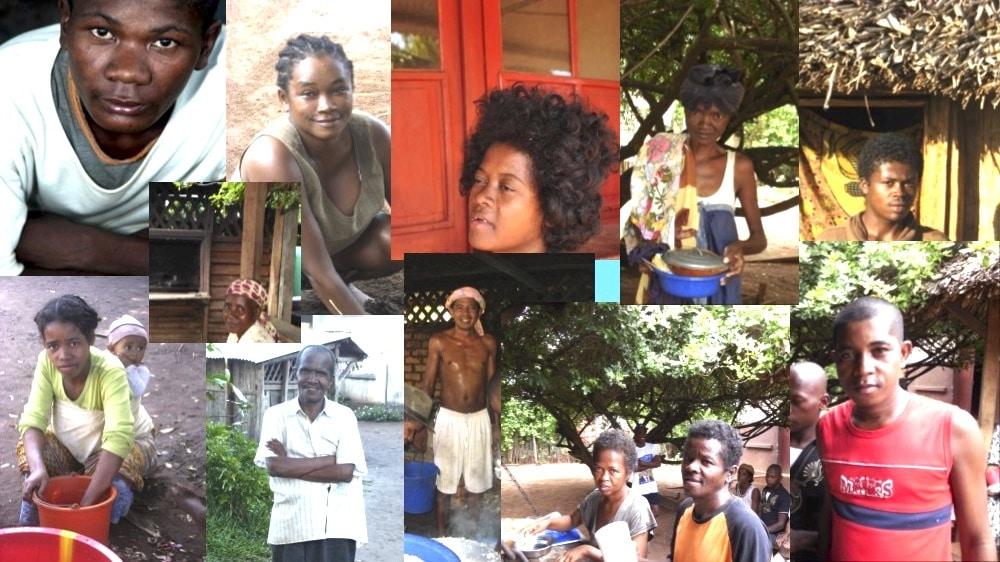 Alcuni amici della famiglia di Ambokala