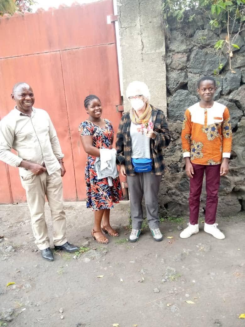 arrivo a casa a Goma - Congo