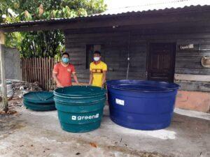 Amazzonia Cisterne d'acqua