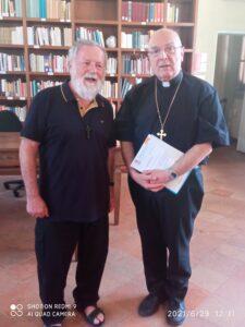 don Gianchi e il Vescovo Camisasca